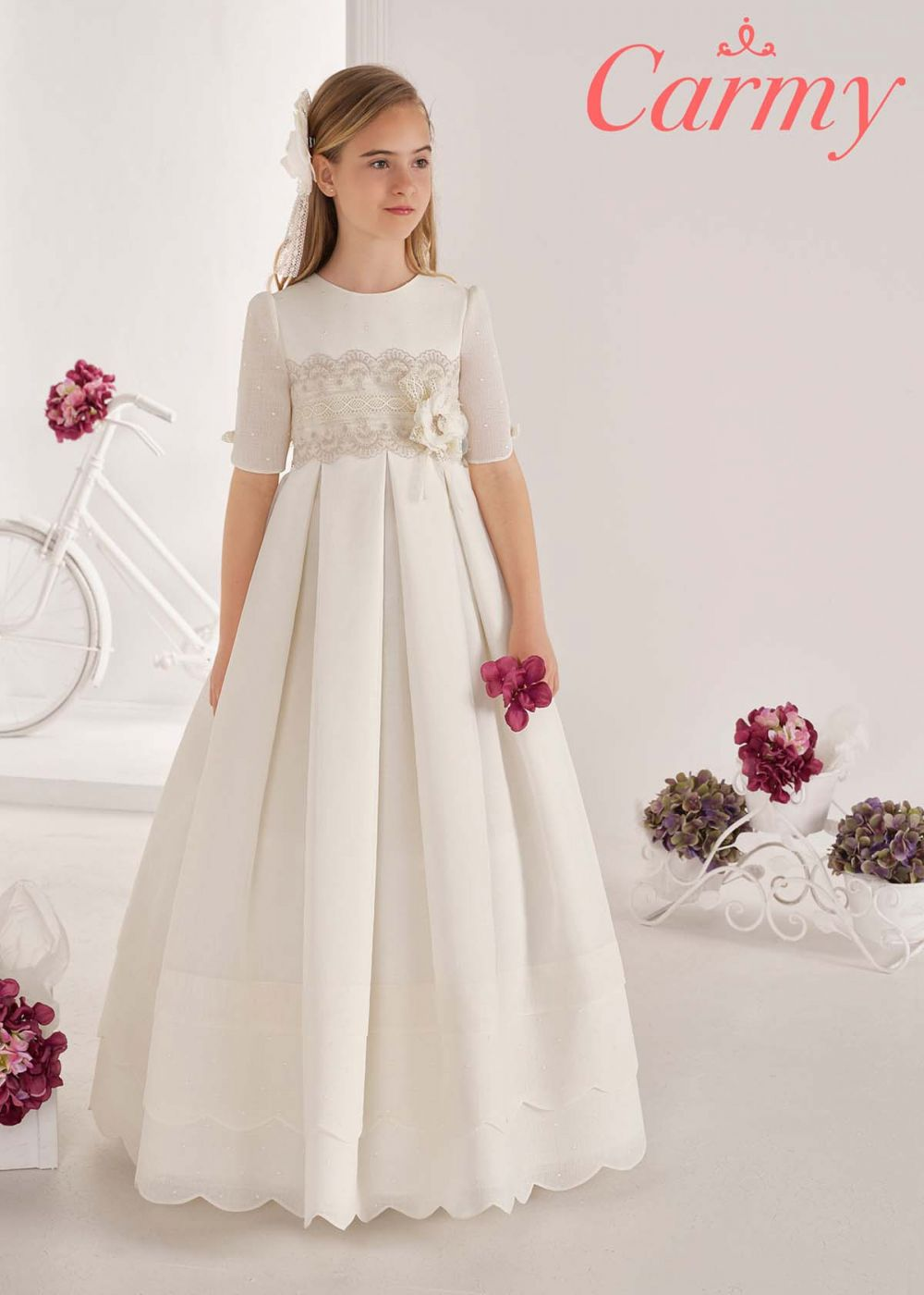 NEW FOR 2021 - Communion Dress - Carmy 20090