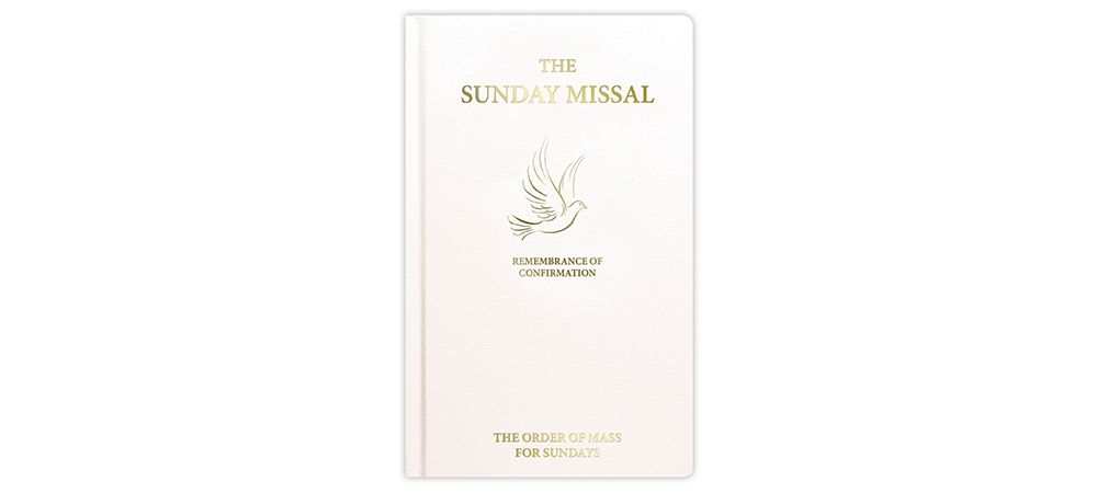 Sunday Roman Missal For Confirmation - White F4516/WH