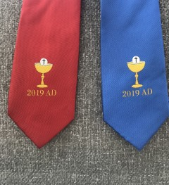9a09a0f92c20 Boys First Communion Ties - Red, White, Blue and Navy Blue Communion ...