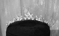 First Holy Communion Tiara - Sparkling Diamante - Little People 4927