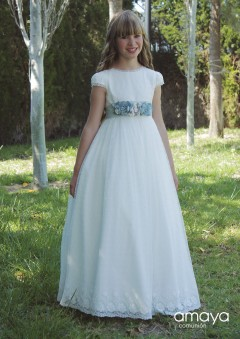 communion dress - amaya 517021mc