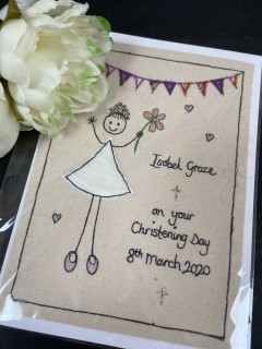 Large Personalised Card