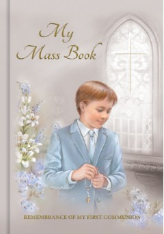 Boys First Communion Mass Book - C4226/BOY
