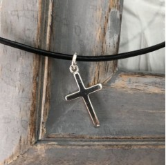 Boys Classic Sterling Silver Cross