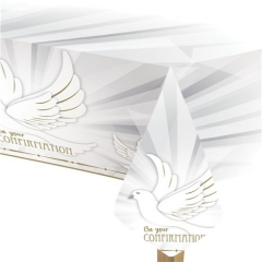 confirmation dove tablecover