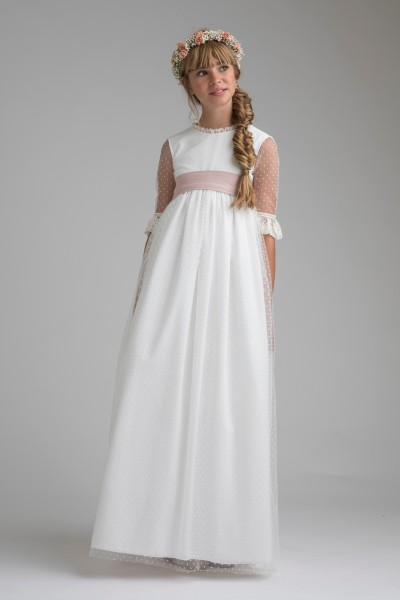 valeria communion dress