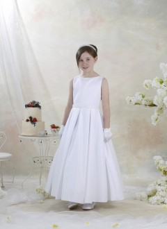 Celebrations Bally Length Communion Dress - Hosta