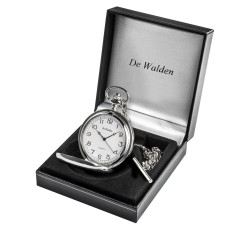 Boy's First Holy Communion Gift - Personalised Engraved Pocket Watch in a Quality Gift Box