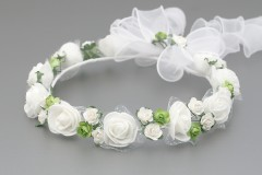Floral Rose Flower Crown