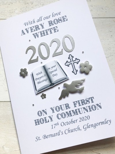 2020 Communion Card