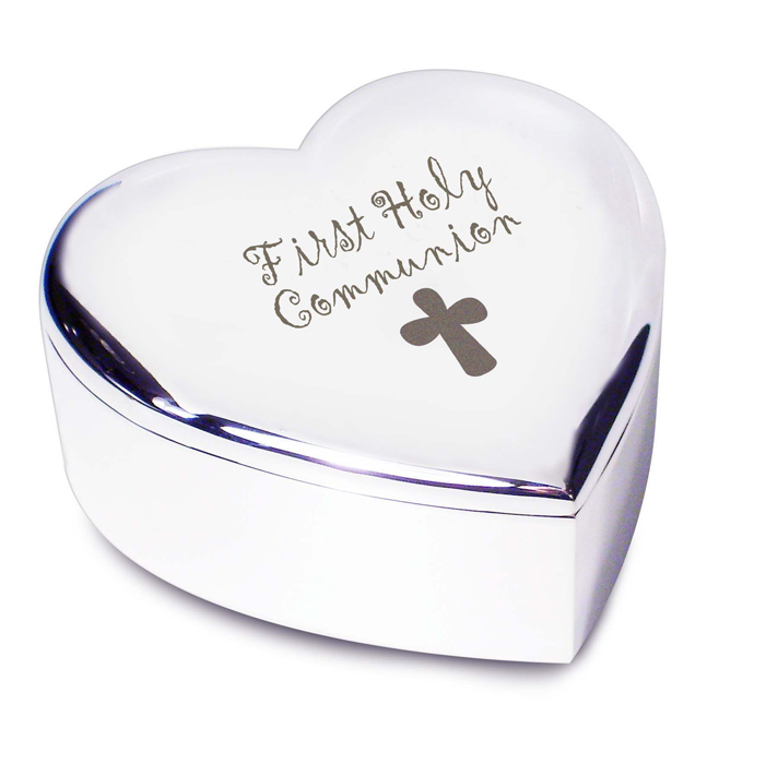 1st Holy Communion Heart Trinket With Cross Motif  sc 1 st  First Holy Communion Day & Next Day First Communion Gifts - Express Service First Holy ...