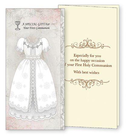 Girls First Holy Communion Money/Voucher Gift Card