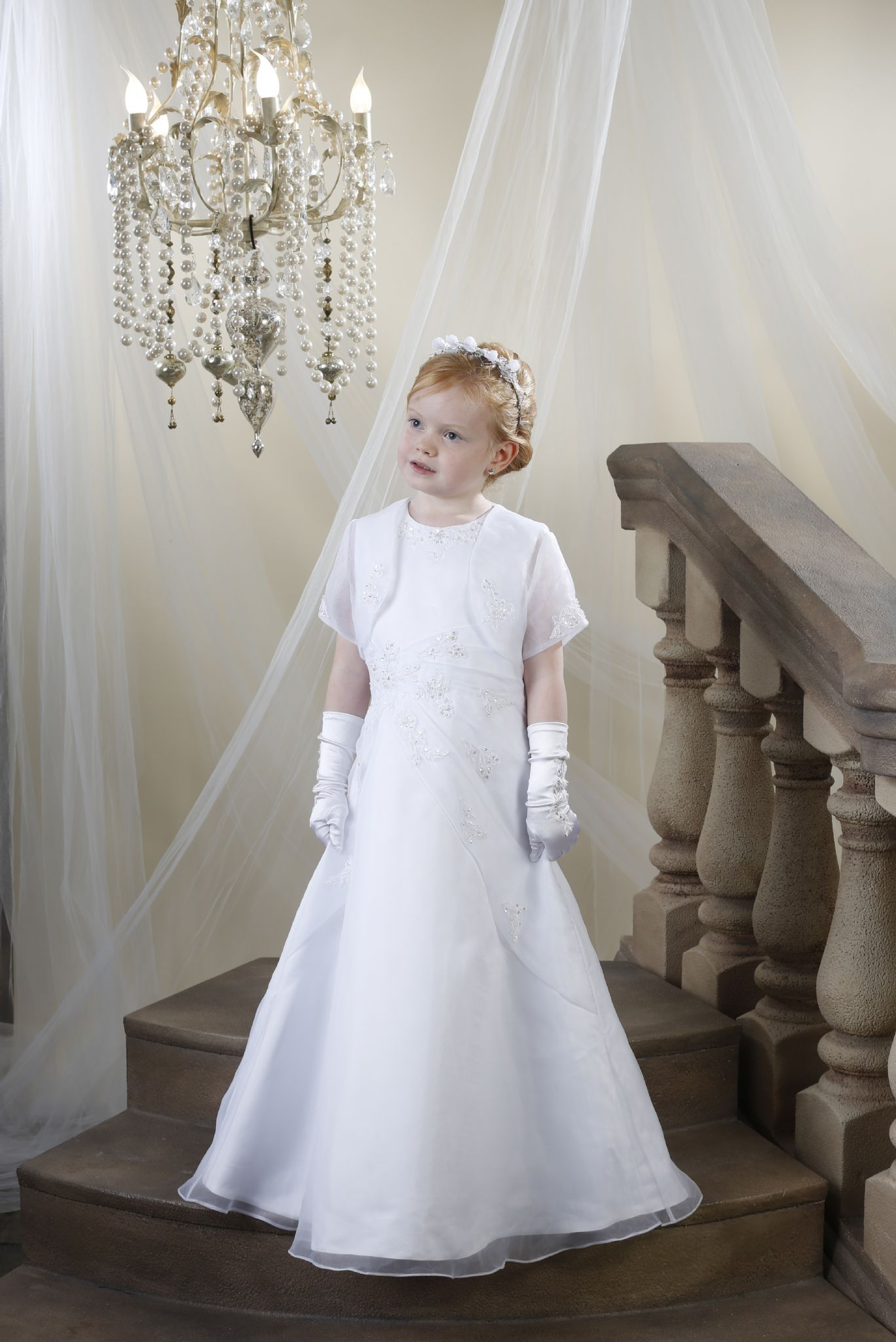 5a86c1e3 Little People - Communion Dress Carey - 80488. £240.00. 14 years - Communion  Dresses for 14 year olds - Age / Size ...