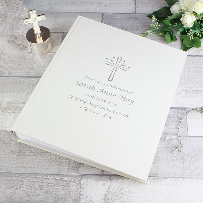 Personalised First Communion Photo Albums Gifts For Boys And Girls