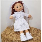Personalised Holy Communion Rag Dolls