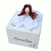 Personalised First Communion Jewellery & Rosary Boxes
