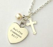Personalised First Communion Jewellery for Boys and Girls
