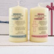 Personalised First Communion Candles