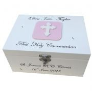 Personalised First Communion Keepsake Boxes and Memory Boxes
